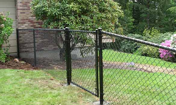 Chain Link Gates Fencing Aside Image